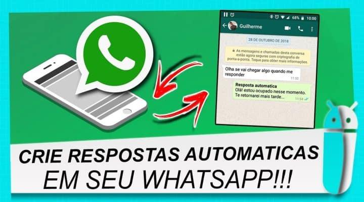 Mensagem Automática no WhatsApp: Aprenda a Colocar